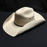 Atwood Weathered 5X Cowboy Hat Long Oval Cream Western Country Rodeo.
