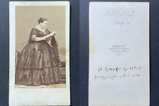 Disdéri, Paris, Maria Marietta Alboni, cantatrice italienne, circa 1865 vintage