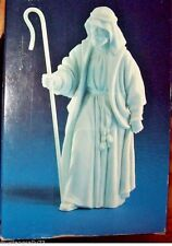 Avon Nativity Collectibles  1983  The Shepherd  White Porcelain Figurine  MINT