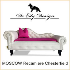 Sofá para perro Chesterfield RECáMARA Moscú XXL Cama chaiselongues con manta