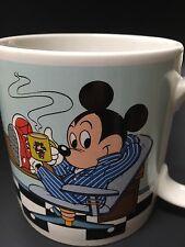 Vintage 1987 Disney Land Mickey Mouse Coffee Cup Mug  Collectible Home Decor