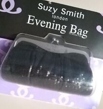 BNWT Fab SUZY SMITH London Black Sequin Evening Party BAG  Perfect Gift