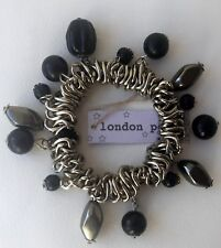 Elasticated Bracelet Charms Pearl Beads london pearl Anthropologie  - one size