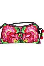 "Women""s Fashion CLUTCH FASHION FLOWER HAND BAG New Never Used"