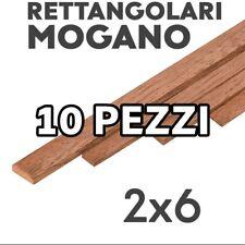OCC181007M 100 Pz LISTELLI 0,6x7x1000mm MOGANO FASCIAME VENEERING SAPELLY SHEETS
