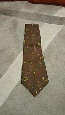 Cravatta  YvesSaintLaurent YSL  Paris tie necktie  vintage 100% silk made in Ita