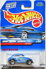 HOT WHEELS 1999 SURF'N FUN SERIES VW BUG BLUE #962 RARE