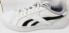 Reebok Classic Men's Low White Canvas Sneakers Shoes Sz 8.5