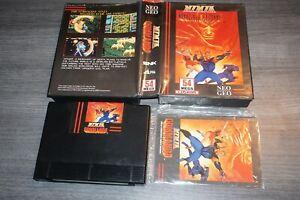 Ninja Commando (Neo Geo AES English) Complete in Box GREAT Shape