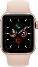 Apple iWatch 5 44mm MWW02LL/A GPS & Cellular NEW SEALED - GOLD Pink Band