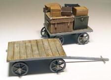 Plus Model Railway Cart on Baggages Coach Set Diorama 1:3 5 Item 207