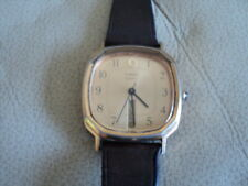 Vintage Timex Quartz Watch Day Date Display Square Face Not Working