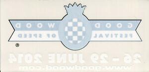Goodwood Festival of Speed 2014 original sticker autocollant adhesivo Aufkleber