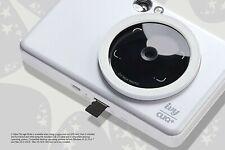 Canon - IVY Cliq+ Instant Film Camera Mobile Mini Photo Printer - Pearl White