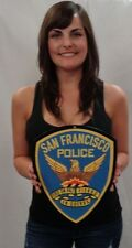 """San Francisco Police Department Patch all Metal Sign 12x 10"""""""