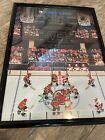 New Jersey Devils Washington Capitals Gameday Poster 1/26/17 Retro Night NHL94