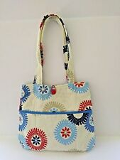 Free Shipping - Red/White/Blue - Handmade Tote 179