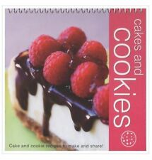 Wiro Flipover Cookbk Cakes and Cookies by Ice Water Press (Novelty book, 2010)
