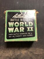 Battle History World War II Photo Slides WW2 Film Set #2 Saipan Marianas Is.