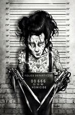 NEW Lowbrow Art Company BUSTED EDDIE CANVAS GICLEE PRINTS MADE IN USA TATTOO