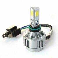 4500LM 40W 12V H4 COB Hi/Lo CREE LED Motorcycle Moto Headlight Bulb Lamp 6000K