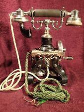 1800-s Antique Skeletal Eiffel Tower Telephone Sweden Ericsson Kristiania Norway