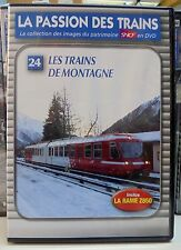 24 dvd la passion des trains atlas les trains de montagne