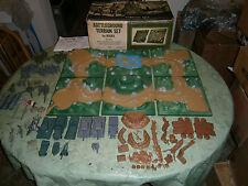 MARX Battleground Terrain set 4184 **Great terrain pieces**
