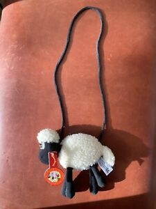 Wallace & Gromit Shaun The Sheep Bag Purse With Tag!!