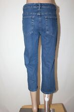 "LEE RIVETED Ultimate 5 Women's Size 8 M Capri Cropped Stretch Jeans 22"" Inseam"