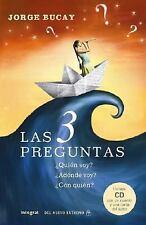 Las 3 Preguntas : Quien Soy? Adonde Voy? con Quien? by Jorge Bucay (2008, CD / …
