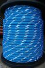 "NovaTech XLE Halyard Sheet Line, Dacron Sailboat Rope 5/8"" x 150' Blue/White"