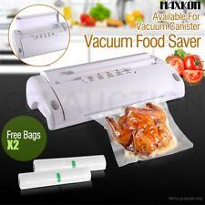 Vacuum Food Sealer Saver Storage Machine Preservation Heat with Free Bag Rolls