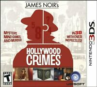 James Noir's Hollywood Crimes [Nintendo 3DS Ubisoft Action Adventure Puzzle] NEW