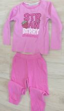 511 – Pyjama épais rose 5-6 ans « strawberry dreams » TEX