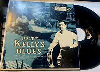 "Pete Kelly's Blues Soundtrack  Jack Webb actor Dragnet 7"" EP Pic sleeve Vg+"