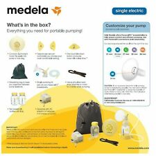 New Sealed Medela Swing Single Electric Breast Pump Kit (67050)