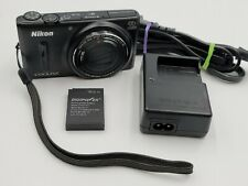 Nikon Coolpix S9600 16MP HD 1080p Camera Black
