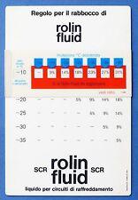 Regolo calcolatore per il rabbocco di Rolin Fluid Arexons