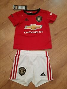 Baby Manchester United 6-9 Months Home Kit 1999 Rohit 1 Man Utd