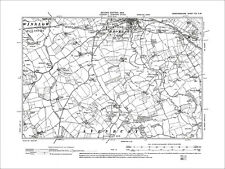 1905: 11SW Stansbatch Old Map Herefordshire Staunton on Arrow