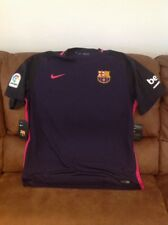 nike fc barcelona purple la liga soccer jersey Nwt size Xl mens