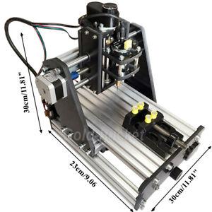 NO VAT Mini 3 Axis Desktop CNC Router Wood PCB Milling Carving Engraving Machine