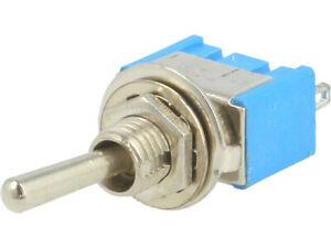 TS-14 Schalter: Knebel; Positionen: 3; SP3T; ein-aus-Ein; 3A/250VAC 25 ÷ 85°C
