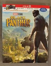Black panther TARGET EXCLUSIVE (Blu-ray + Digital) 40 PAGE BOOk