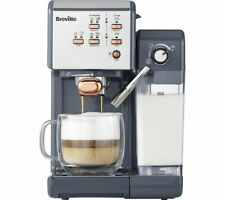 BREVILLE One-Touch VCF109 Coffee Machine - Graphite Grey & Rose Gold - Currys
