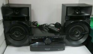 PANASONIC SA-UX100 BLUETOOTH; USB; RADIO; CD PLAYER HIFI SYSTEM (RB16)