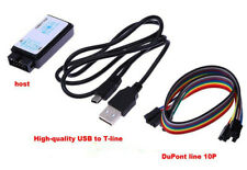 USB Logic Analyzer Device Set USB Cable 24MHz 8CH 24MHz for ARM FPGA M100 Hot