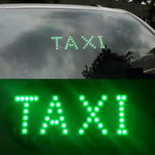 Green DC 12V 45 LED Car Taxi Cab Roof Light Vehicle Sign Inside Windscreen Lamp