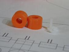 Octopush + Ultra Push Build Kits - Super Orange Silicone Small + Mediuam